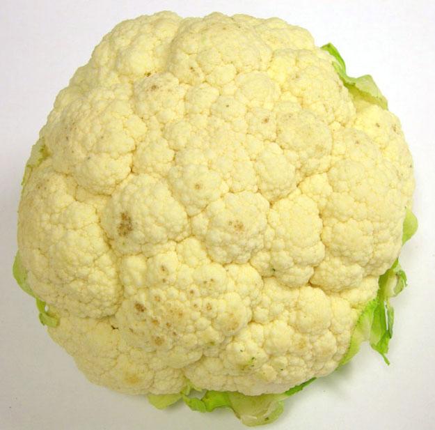cauliflower curd discoloration international produce training